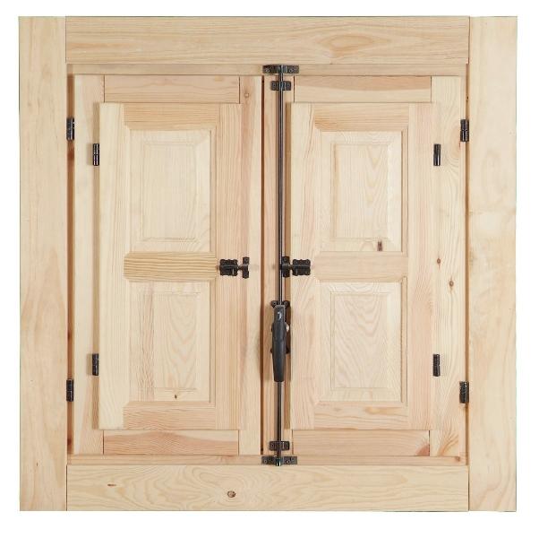 Ventanas de madera diferentes modelos y precios for Precio puerta madera